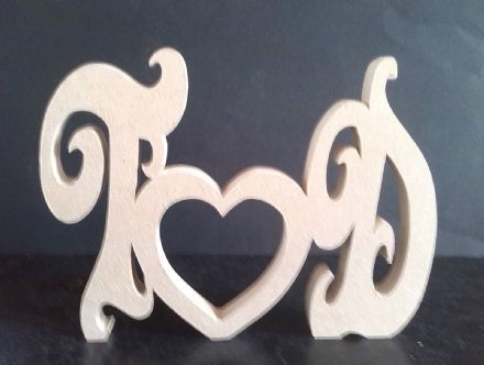 ROMANTIC LOVE INITIALS